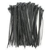 Nylon Plastic Zip Wrap Cable Wire Ties 100Pcs ถูก