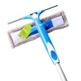 ราคา Ocean New Two Sided Glass Wiper Shower Room Cleaner Three Links Rod Household Glass Window Wiper Blue Intl ใน จีน