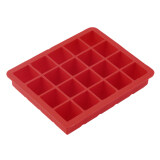 ขาย Oh 20 Cavity Large Cube Ice Pudding Jelly Maker Mold Mould Tray Silicone Tool Red