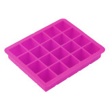 ซื้อ Oh 20 Cavity Large Cube Ice Pudding Jelly Maker Mold Mould Tray Silicone Tool Rose Red