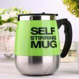 ราคา Oh 450Ml Stainless Self Stirring Mug Auto Mixing Drink Tea Coffee Cup Home Green ใหม่
