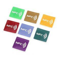 ซื้อ Oh 7Pcs Multicolor Square Nfc Tags Stickers Lables For Nfc Enabled Device Multicolor จีน