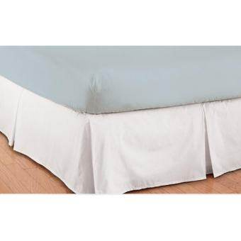 OHM Bed Skirt-กระโปรงเตียงแบบ 5 ทวิส ผ้าเครปซาติน 220 เส้น ขนาด 3.5 ฟุต-
