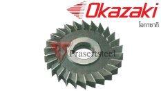 ซื้อ Okazaki ใบเลื่อยวงเดือน คม 3 หน้า ขนาด 2 5 นิ้ว หนา 10มม Bore 25 4 20ฟัน Unbranded Generic ออนไลน์