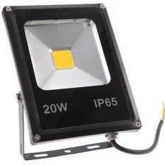 ซื้อ โคมไฟ Led 20W Ip65 L Flood Light Spotlight 90 240V Black Unbranded Generic