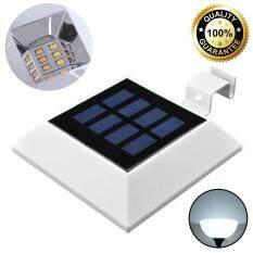 ซื้อ โคมไฟโซล่าเซลล์ ทรงจตุรัส 6 Smd Led เเสง ขาว ออนไลน์