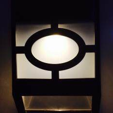 ราคา โคมไฟผนัง พลังงานแสงอาทิตย์2 Led ทรง Modern เเสง เหลืองวอมไวท์ Unbranded Generic เป็นต้นฉบับ