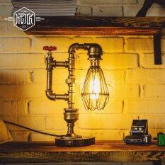 ราคา โคมไฟตั้งโต๊ะ สไตล์ Loft หลอดไฟเอดิสัน ใน กรุงเทพมหานคร