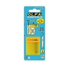 ส่วนลด Olfa ใบมีดคัตเตอร์โอฟ่า รุ่น Olfa Kb 6 มม แพ็ค 25 ใบ Olfa ใน กรุงเทพมหานคร