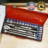 ราคา Omy ชุดเครื่องมือ ประแจ ชุดบล็อก 24 ชิ้น จาก Usa ขนาด 1 2 4หุน ที่สุด
