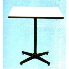 ซื้อ โต๊ะอาหารหน้าโฟเมก้า ขนาด 30X30นิ้ว สีขาว T39 Oreohh ออนไลน์