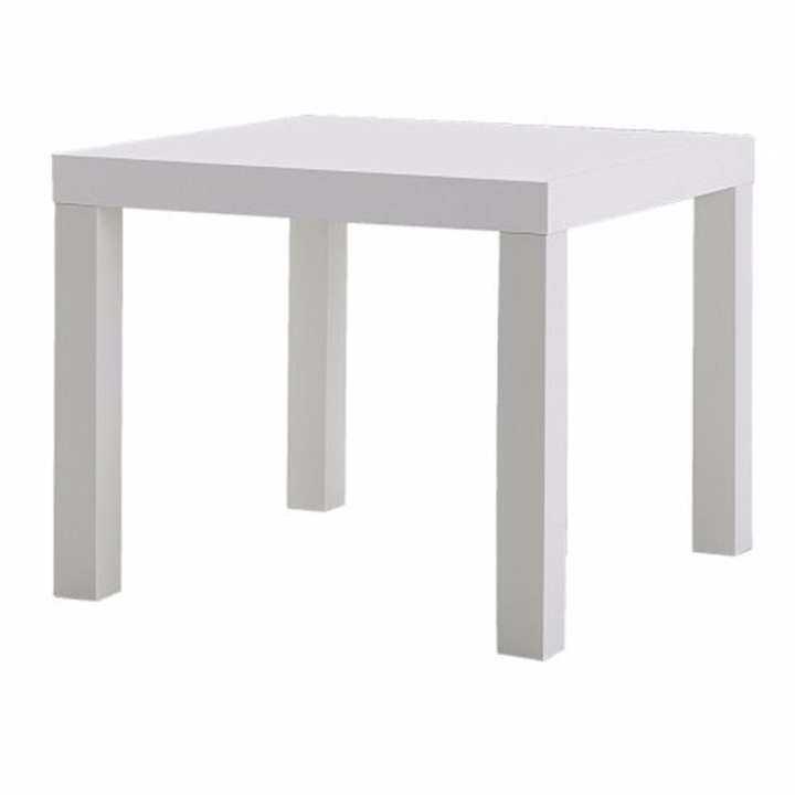ซื้อที่ไหน โต๊ะข้าง,สีขาว,55×55 ซม.