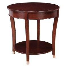โต๊ะกลมไม้ โต๊ะกลาง โต๊ะข้าง โต๊ะเข้ามุม สไตล์หรู เป็นต้นฉบับ