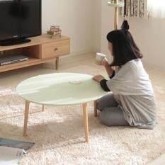ส่วนลด โต๊ะญี่ปุ่น ปรับระดับได้ สำหรับวางของอเนกประสงค์ สีเขียว Colorful Table With Height Adjustable Green Color Daiku กรุงเทพมหานคร