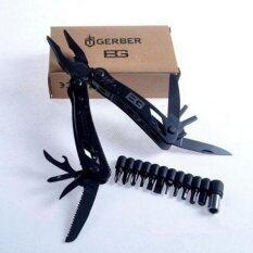 ราคา ราคาถูกที่สุด Outdoor Multifunctional Pliers Screwdriver Multi Tool Color Black Intl