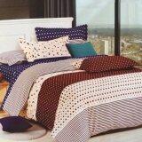 ราคา P Cotton เกรดA ผ้าปูที่นอน 6ฟุต 5ชิ้น ผ้านวม ขนาด150X200Cm ลายขายดี รหัส Alk533 P Cotton เป็นต้นฉบับ