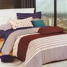 ซื้อ P Cotton เกรดA ผ้าปูที่นอน 6ฟุต 5ชิ้น ผ้านวม ขนาด150X200Cm ลายขายดี รหัส Alk533 ออนไลน์ ถูก