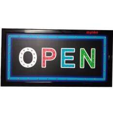 ขาย ป้ายไฟ Led Open Led Open ขนาด50 26 ซม อักษร ตกแต่งหน้าร้าน ราคาถูกที่สุด