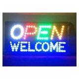 โปรโมชั่น ป้ายไฟLed Open Welcome รุ่น Yw 26ขนาด50 26 ซม อักษร ตกแต่งหน้าร้าน ถูก