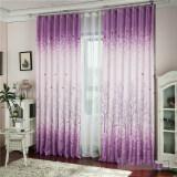 ซื้อ Pachira Printed Tulle Voile Door Window Curtain
