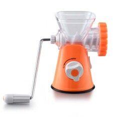 ราคา Palight Multifunctional Manual Meat Grinder Mincer Machine Orange ออนไลน์