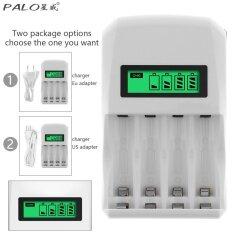 ขาย Palo 4 Slots Lcd Display Intelligent Quick Battery Charger For Support Different Battery Mixed Charging Intl ผู้ค้าส่ง
