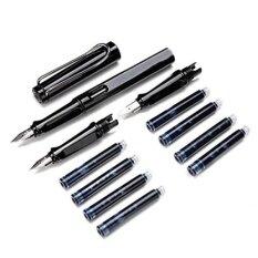 ขาย ซื้อ Panda Online 359 ที่แตกต่างกัน Nibs 4 มิลลิเมตร 5 มิลลิเมตร 7 มิลลิเมตรชุดปากกาประดิษฐ์สำหรับนักเรียน 1Pen 2 Nibs 8Ink ถุง