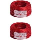 ซื้อ Papamami Plastic Wire Rope เชือกฟางเส้นลวด สีแดง 2ม้วน ออนไลน์