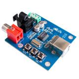 ทบทวน Pcm2704 Usb Dac To S Pdif Sound Card Decoder Board 3 5Mm Output F Pc