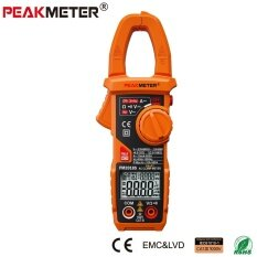 ส่วนลด Peakmeter 2018S Portable Smart Ac Digital Clamp Meter Multimeter Ac Current Voltage Resistance Continuity Measurement Tester Intl Peakmeter