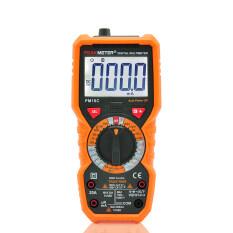โปรโมชั่น Peakmeter Pm18C Digital Multimeter Measuring Voltage Currentresistance Capacitance Frequency Temperature Hfe Ncv Live Linetester Intl