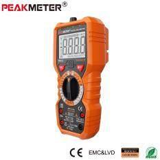 ส่วนลด มัลติมิเตอร์แบบดิจิตอล Peakmeter Pm18C V A Ac V A Dc C Hz Hfe Ncv Live Line Teste อุณหภูมิ Peakmeter ใน กรุงเทพมหานคร