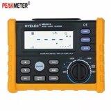 ซื้อ Peakmeter Rcd วนทดสอบวงจรมัลติมิเตอร์การรั่วไหลทดสอบสวิทช์ Gfci ห่วงความต้านทานเครื่องวัด Ms5910 นานาชาติ