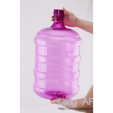 ขาย ถัง Pet ขนาด 18 9 ลิตร รุ่น กลมใส สำหรับใส่น้ำดื่ม สีม่วงอ่อน Unbranded Generic ใน กรุงเทพมหานคร