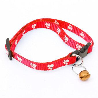 สัตว์เลี้ยงสุนัขแมวลูกสุนัขป้องกันเห็บปลอกคอ (สีแดง)-นานาชาติ