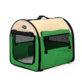ขาย Pet Pirate บ้านพกพา น้ำหนักเบา กางและพับเก็บง่าย มาพร้อมกระเป๋าหิ้วเข้าชุด สีเขียว เป็นต้นฉบับ
