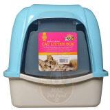 ราคา Pet8 Cat Litter House Sport Blueห้องน้ำแมว ขนาด 38 49 42 ซม สีฟ้า 1 ชุด ที่สุด