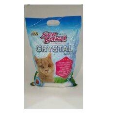 ซื้อ Pet8 See Sand Crystal ทรายแมว คริสตัล ขนาด 5L ถูก ใน Thailand