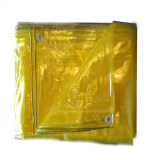 ราคา ผ้าใบใสอเนกประสงค์ 2X3 สีเหลือง ใหม่
