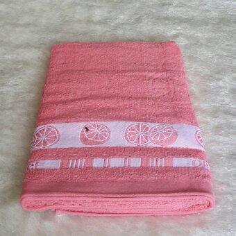 ผ้าเช็ดตัวอาบน้ำ ผ้าขนหนู 30x60 นิ้ว แพค 6 ผืน M14-23