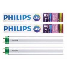 ส่วนลด Philips หลอดไฟ Led Ecofit T8 10W 18W 600Mm Day Light 2 หลอด Philips กรุงเทพมหานคร