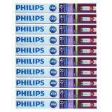 ราคา Philips หลอดไฟ Led Ecofit T8 20W 36W 1200Mm Day Light 10หลอด ใหม่