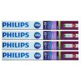 ขาย Philips หลอดไฟ Led Ecofit T8 20W 36W 1200Mm Day Light 4 หลอด ราคาถูกที่สุด