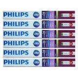 ราคา Philips หลอดไฟ Led Ecofit T8 20W 36W 1200Mm Day Light 6 หลอด Philips เป็นต้นฉบับ