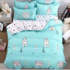 ส่วนลด สินค้า Pillow Land ผ้าปูที่นอน ชุดผ้านวม 6 ฟุต 6 ชิ้น B 205