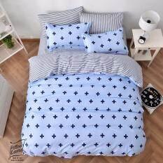 ซื้อ Pillow Land ผ้าปูที่นอน ชุดผ้านวม เกรด A 6 ฟุต 6 ชิ้น Ai 101 Pillow Land ออนไลน์