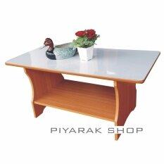Piyalak Shop โต๊ะกลางโซฟา โต๊ะวางของอเนกประสงค์ รุ่น วินเฃอร์หน้าโฟเมก้า สีลายไม้บีช Piyalak Shop ถูก ใน กรุงเทพมหานคร