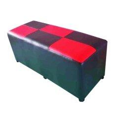 ราคา Piyalak Shop เก้าอี้ทรงสตูล เบาะสี่เหลี่ยม หุ่มหนัง Pvc ยาว 100 ซม รุ่น Stool 1 เมตร สีดำ Piyalak Shop กรุงเทพมหานคร