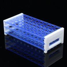 ซื้อ Plastic 3 Layers Lab Test Tube Rack Holder Centrifugal Pipe Stand 13Mm 50 Holes Intl