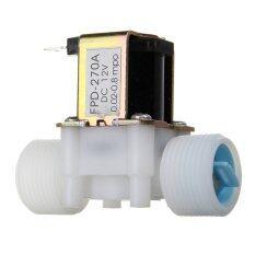 ราคา พลาสติกไฟฟ้า 12โวลต์โซลินอยด์วาล์วน้ำดีซีn3 10 16ซมปิดวาล์วควบคุมกระแส N C ปกติ ราคาถูกที่สุด